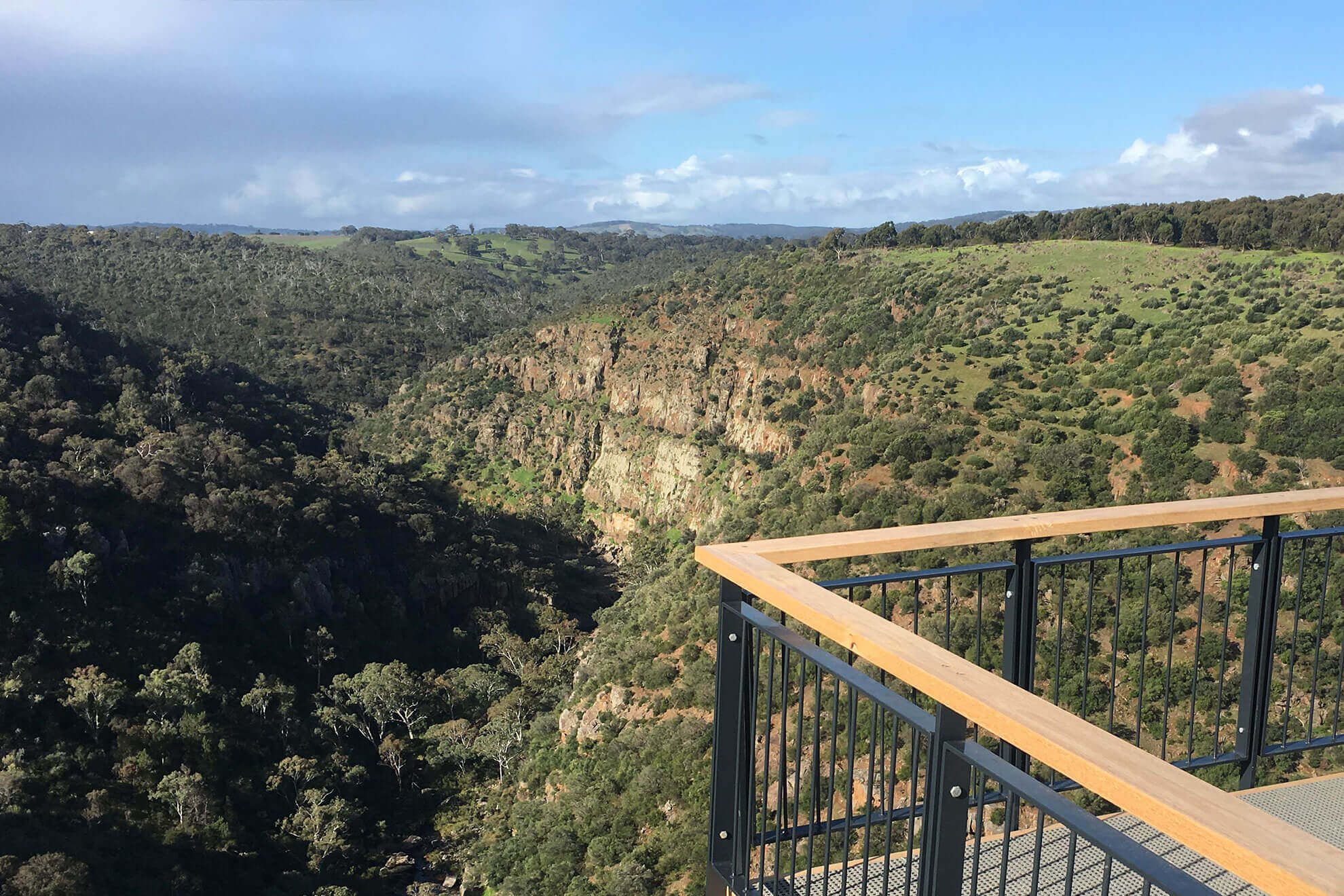 Onkaparinga Gorge with our Concierge Service McLaren Unveiled