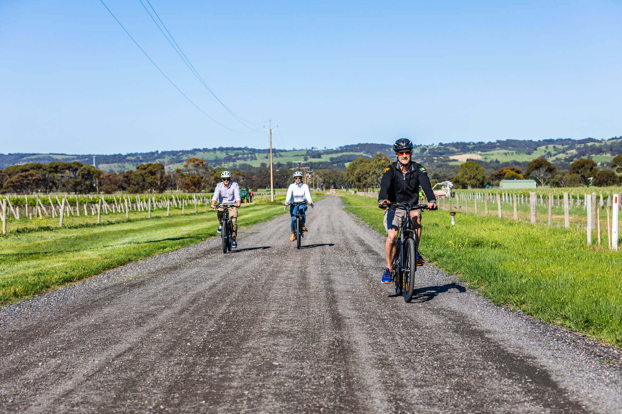 Shiraz Trail on your eBike in McLaren Vale