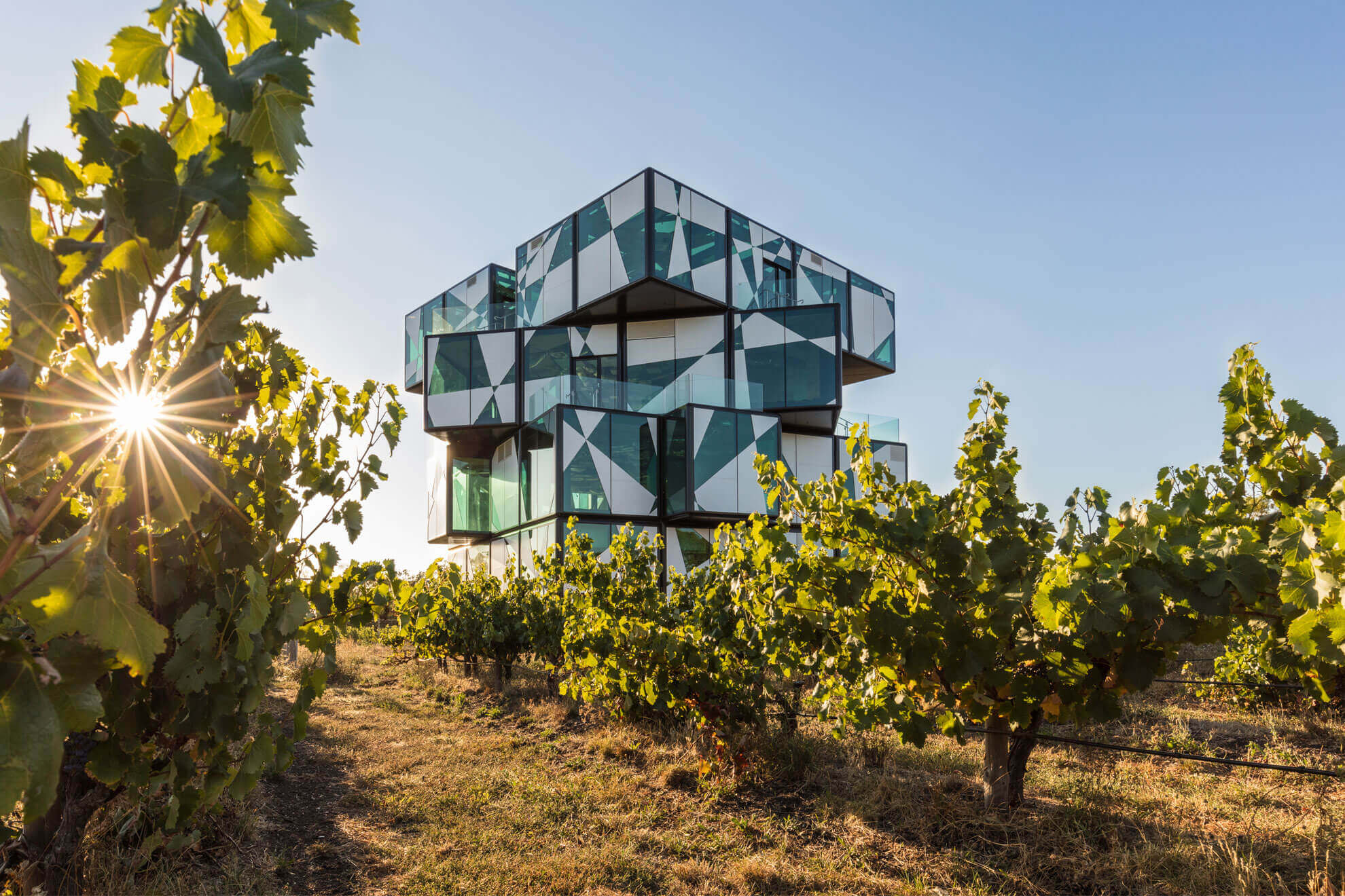 Dine at the d'Arenberg Cube as part of McLaren Unveiled
