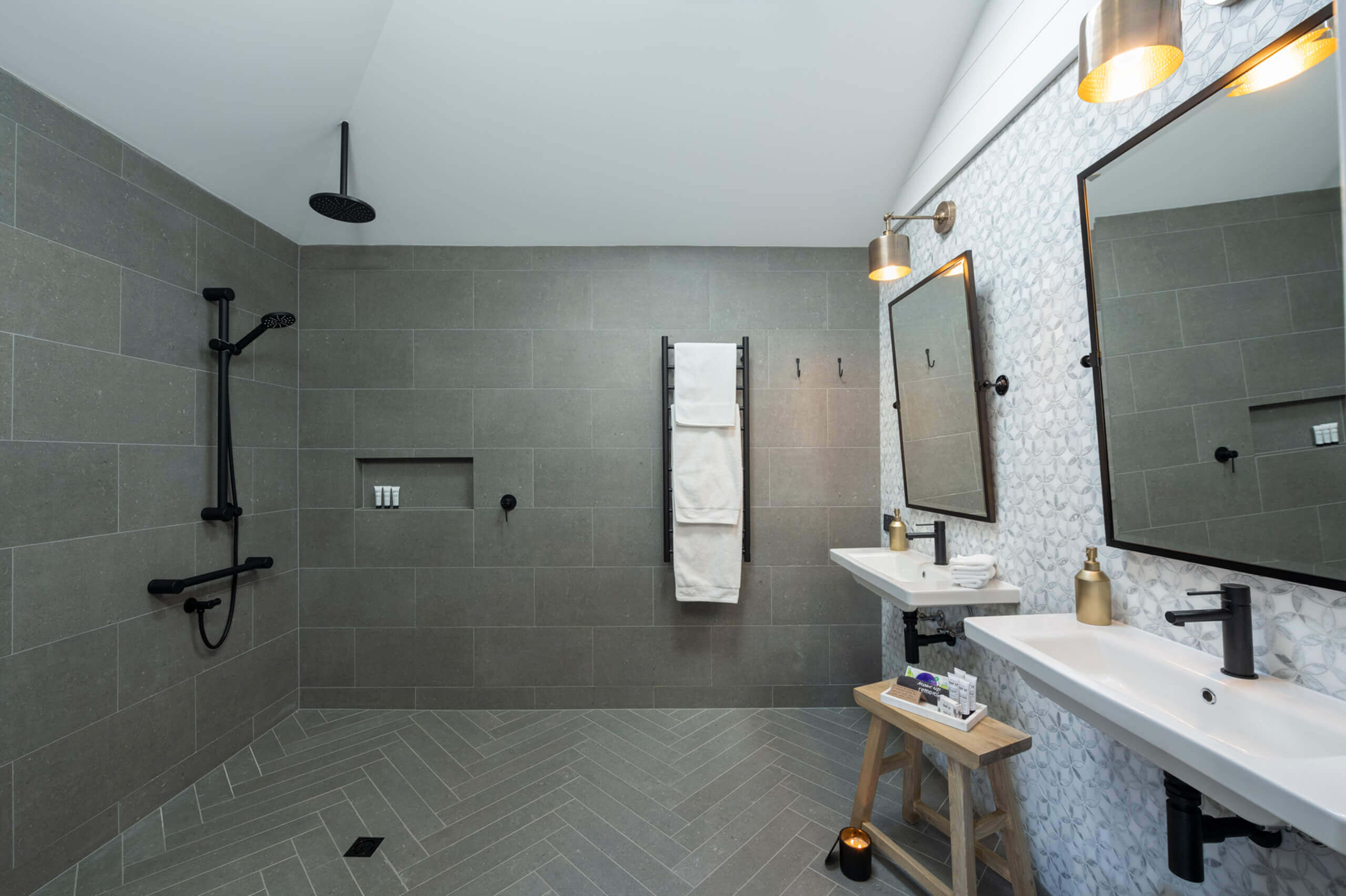 Luxury Bathroom suitable for those with disability requirements